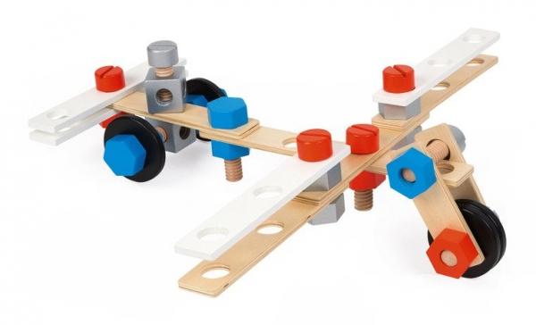 Zestaw konstruktora 100 elementów Brico 'Kids (J06479)