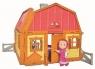 Masza i Niedźwiedź Dwupoziomowy dom Maszy