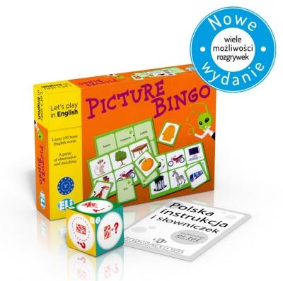 Gra językowa Angielski Picture bingo New