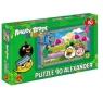 Puzzle 90 Angry Birds Rio Na targu (1079)