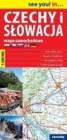 Czechy i Słowacja. Mapa samochodowa. 1:600000 .