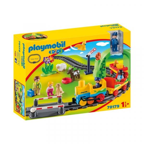 Playmobil 1.2.3: Moja pierwsza kolejka (70179)