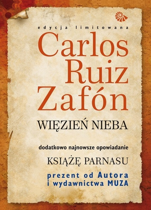Więzień Nieba / Książę Parnasu Zafon Carlos Ruiz