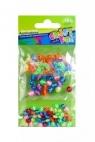 Ozdoba dekoracyjna plastikowe koraliki 3x mix