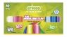 Modelina fluorescencyjna Cricco 10 kolorów (CR376K10)