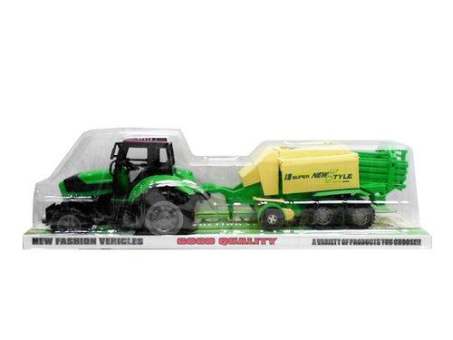 Traktor z maszyną rolniczą 53 cm