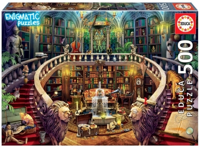 Puzzle 500 Biblioteka (Enigmatic) G3