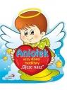 Aniołek uczy dzieci modlitwy Ojcze nasz praca zbiorowa
