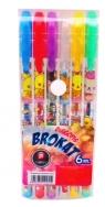 Długopis brokat NADRUK 6 kolorów