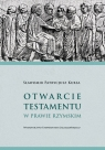 Otwarcie testamentu w prawie rzymskim Kursa Sławomir Patrycjusz