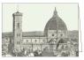 Karnet z kopertą ITW 006 Firenze Cattedrale S.Mari