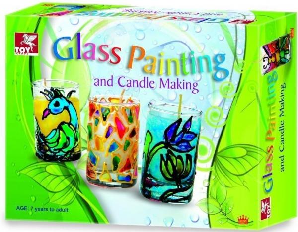 Świece Malowanie na szkle  (39479)