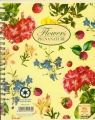 Kołobrulion A5 Pigna Nature Flowers w kratkę 60 kartek mix wzorów