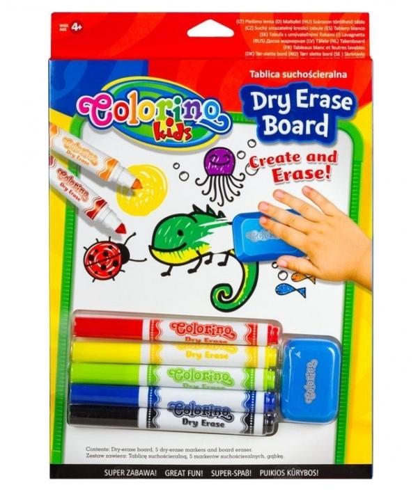 Tablica suchościeralna Colorino Kids (65795PTR)