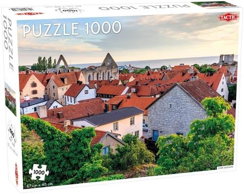 Puzzle Visby, Gotland 1000