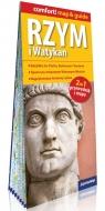 Rzym i Watykan laminowany map&guide (2w1: przewodnik i mapa)