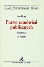 Prawo zamówień publicznych Komentarz Pieróg Jerzy