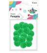Pompony 18mm, zielone (352535)