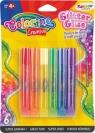 Klej brokatowy Tęcza Colorino Creative, 6 kolorów (68796PTR)