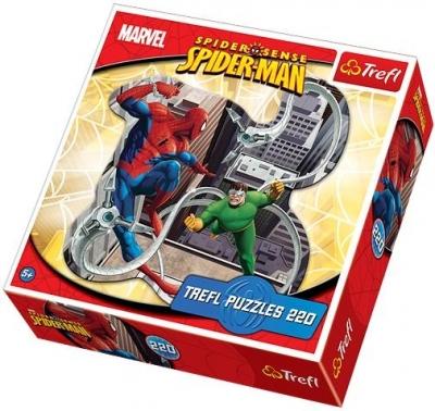 Spiderman - Puzzle konturowe - 210 elementów (39079)