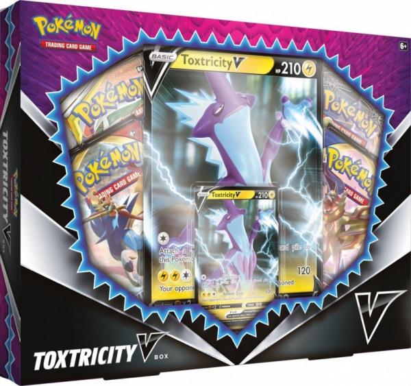 Karty TCG Sword & Shield VBox Toxtricity (06797 Toxtricity)