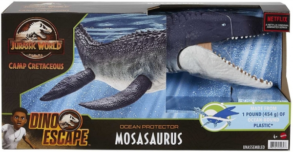 Figurka Jurassic World Mozazaur Obrońca oceanu (GXC09)