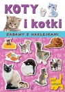 Koty i kotki Zabawy z naklejkami