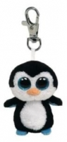 Maskotka brelok Beanie Boos Waddles - Pingwin (TY 36505)