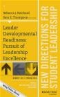 Leader Developmental Readiness Rebecca Reichard