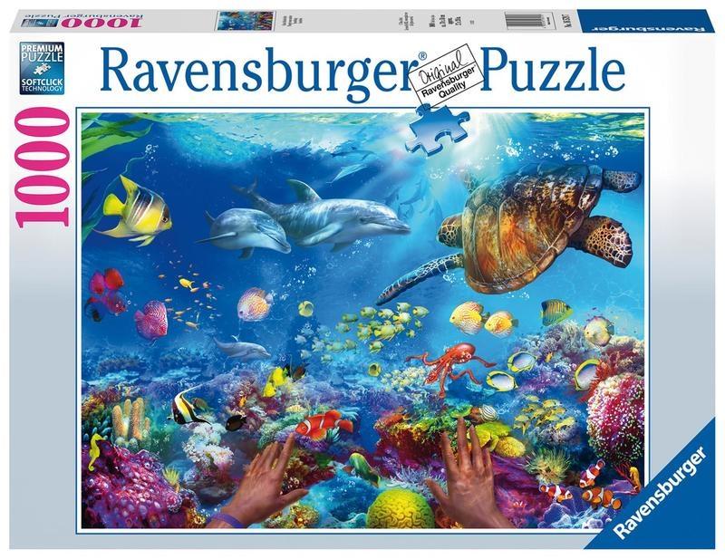 Puzzle 1000: Pod wodą (16579)
