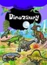 Dinozaury. Błyszczące naklejki