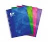 Kołonotatnik Oxford Lagoon A4 80 kartek kratka mix kolorów