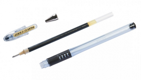 Długopis żelowy Pilot G-1 Grip czarny (BLGP-G1-5-B)