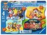 Puzzle 4w1 4/6/8/10 elementy - Psi Patrol, Ruff Ruff Rescue (069798)