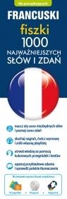 Francuski fiszki 1000 najważniejszych słów i zdań + CD-ROM