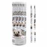 Ołówek z gumką psy i koty (48szt)