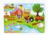 Puzzle Adar drewniane farma 44 elementy (BPUZ1798)