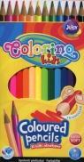 Kredki ołówkowe trójkątne 12 kolorów (51798PTR)