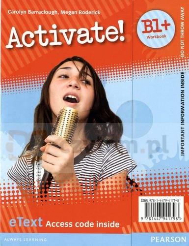 Activate B1+ (Pre-FCE) WB eText AccCard Carolyn Barraclough, Megan Roderick