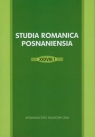 Studia Romanica Posnaniensia XXXVIII/1
