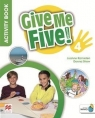 Give Me Five! 4 Activity Book MACMILLAN