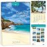 Kalendarz 2021 7 Plansz Gorące Wyspy EV-CORP