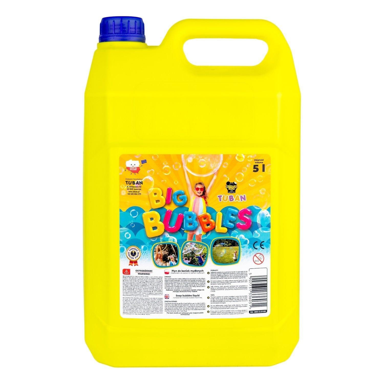 Tuban, płyn do dużych baniek mydlanych 5L (3603)