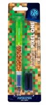 Pióro młodzieżowe Pixel One - 1 szt. + 3 naboje (203120012)mix kolorów