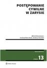 Postępowanie cywilne w zarysie Broniewicz Witold, Marciniak Andrzej, Kunicki Ireneusz