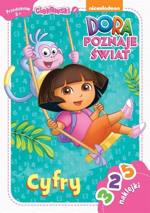 Dora poznaje świat Cyfry 5+ Ciekawski przedszkolak