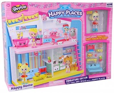 Happy Home zestaw Dom z akcesoriami ((HPP56179))