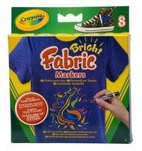 Odblaskowe flamastry do tkanin 8 sztuk