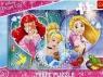 Puzzle Ramkowe 15: Disney Księżniczki Trzy uśmiechy (31279) Wiek: 3+
