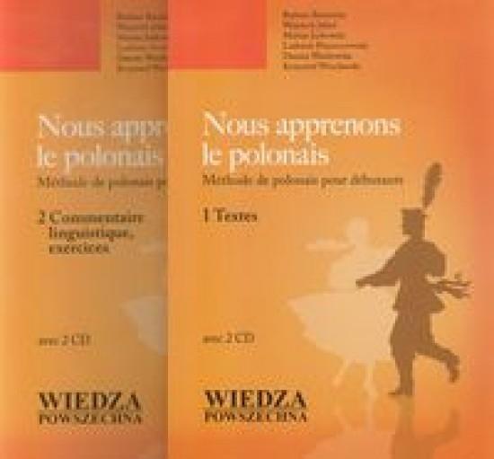 Nous apprenons le polonais +2CD Barbara Bartnicka , Wojciech Jekiel , Marian Jurk